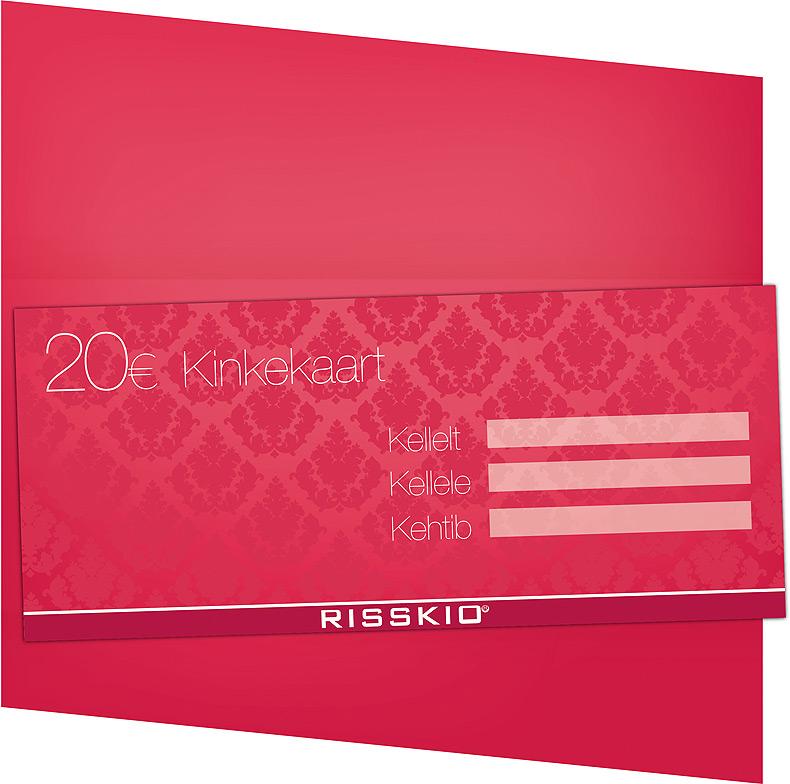 Risskio Gift Certificate And Client Card Landegra Design
