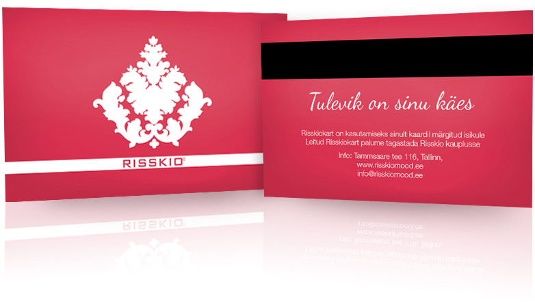 risskio  t certificate and client card landegra design